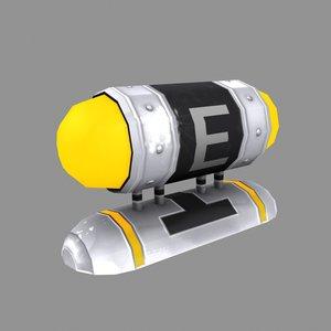 3d metroid - energy tank