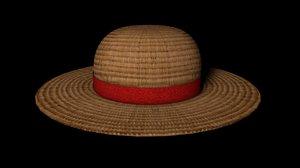 straw hat c4d free