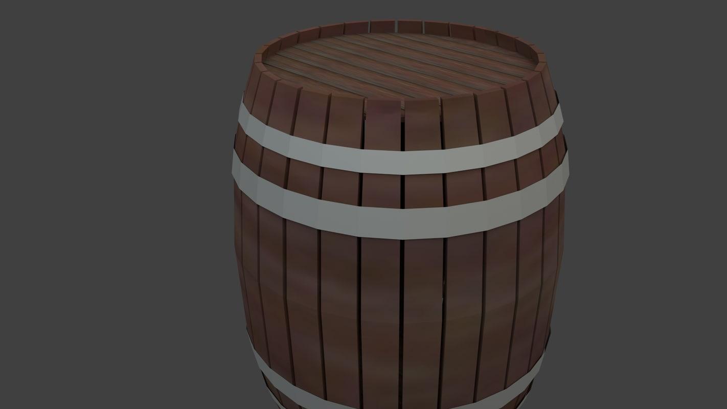 3d 3ds barrel western