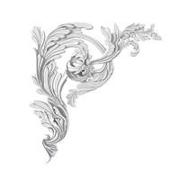 Ellada Style u 534 classic plaster ceiling corner decorative element