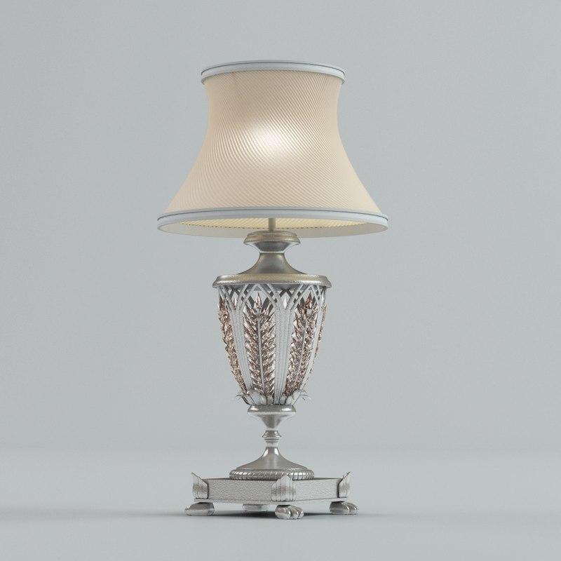 empire lamp 3d model