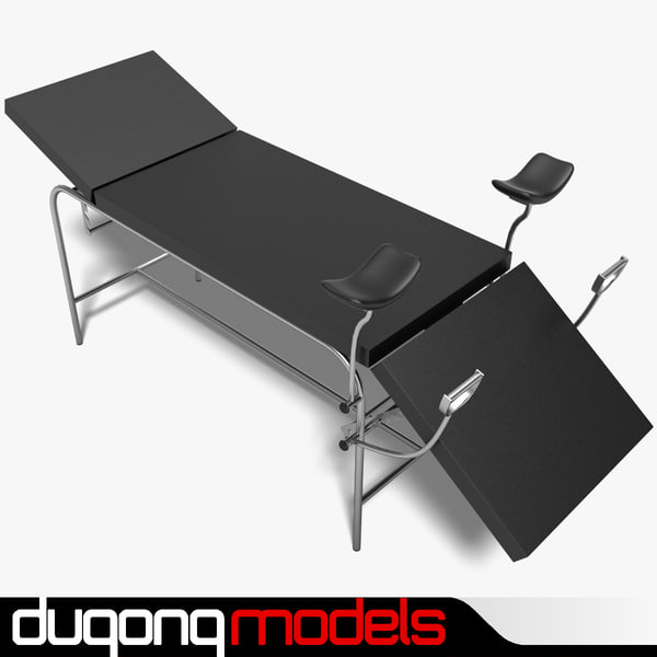 dugm04 exam table c4d