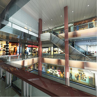 shopping mall 3d model