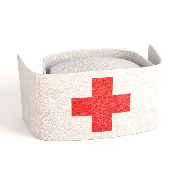 3ds max nurse hat