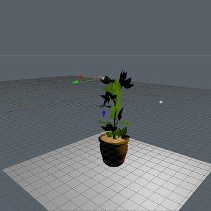 cinema4d planta plant