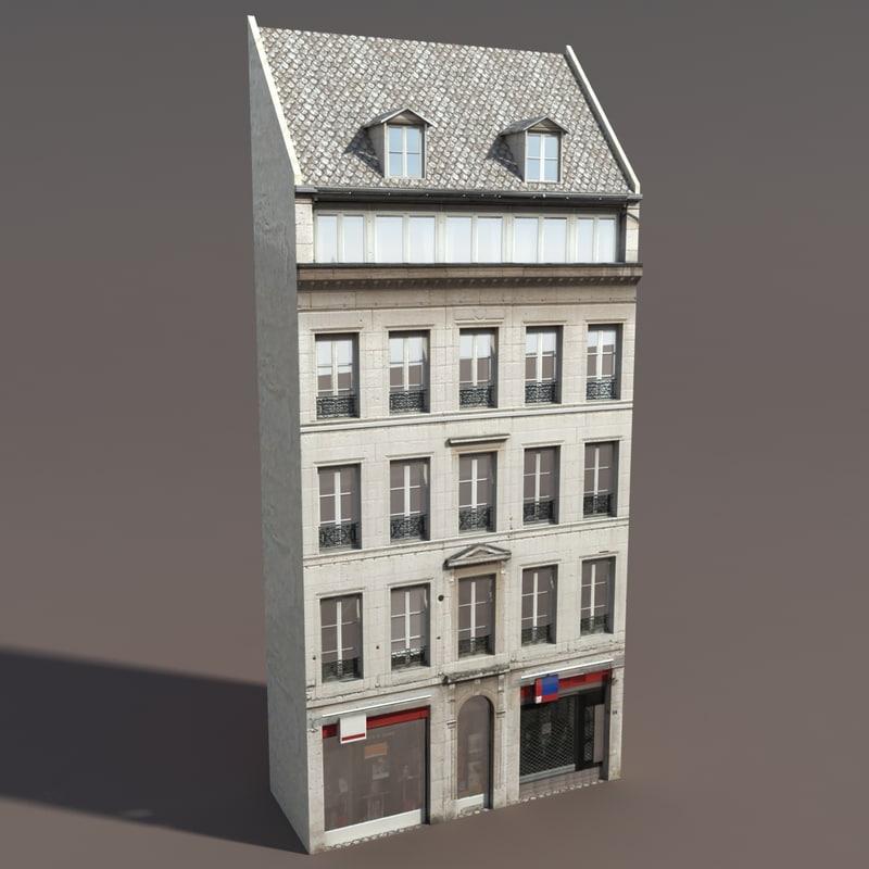 3ds building exterior