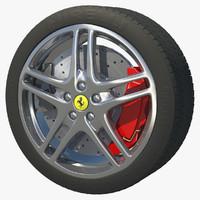 rim wheel sport stock 3d c4d