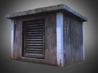 old ventilation 3d model