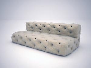 3d soho sofa model
