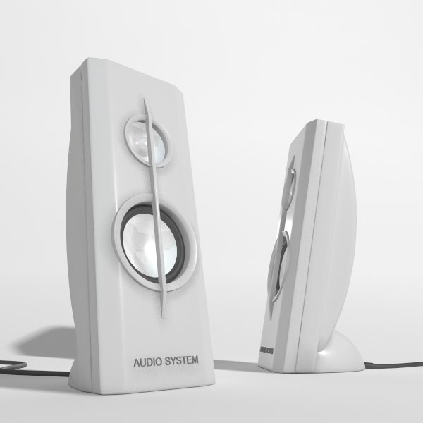 3dsmax pc speakers