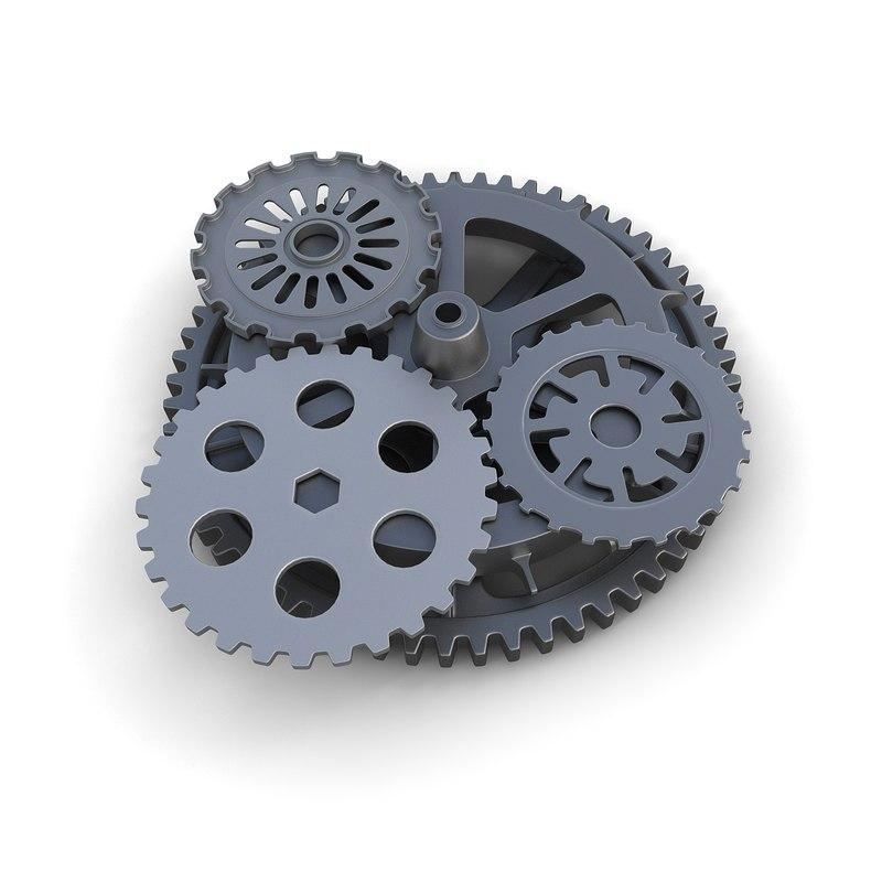 gears 02 3d 3ds