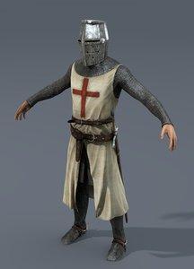 3d max helmet sword