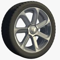 3d model wheel tt rim