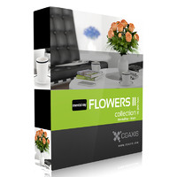 3d max volume 26 flowers ii