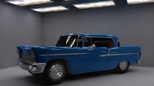 3d car 1954 model