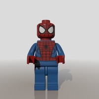 Spider Man Lego Figure