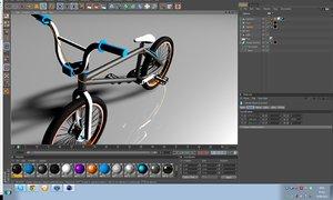 bmx template 3d model