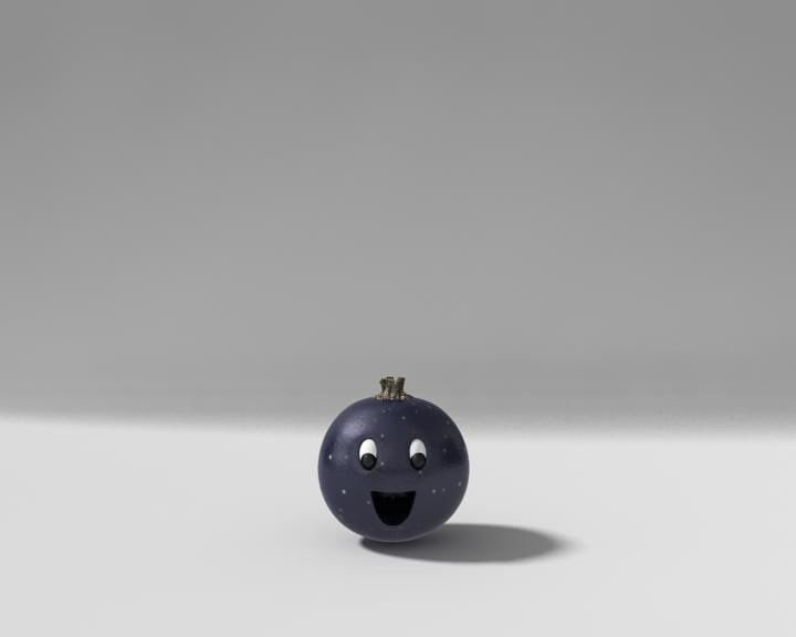 blackcurrant fruit 3d max