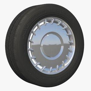 wheel rim 3d model