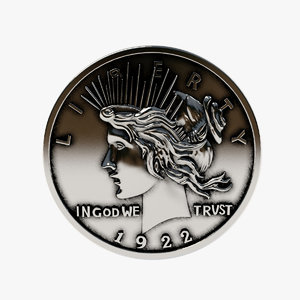 3d harvey dent coin