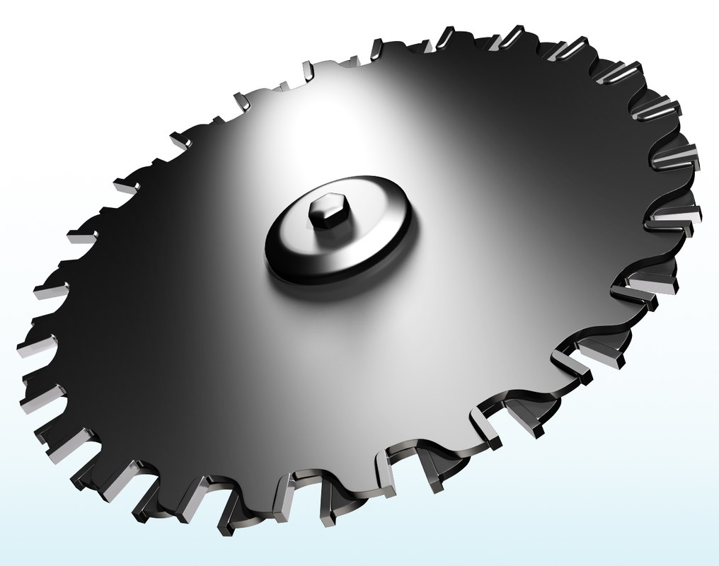 3d blade double cut saw