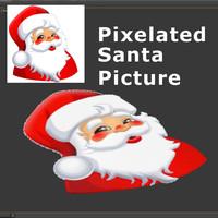 Pixels Santa 03