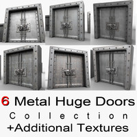 3ds max metal door