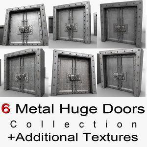 3ds max metal door