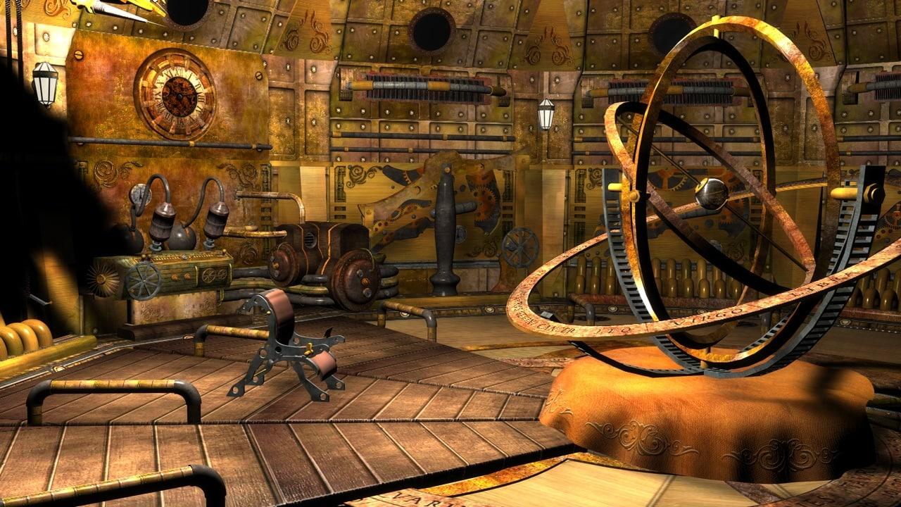 maya steampunk interior