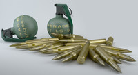 Grenades an Bullets