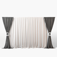 High Poly Curtain