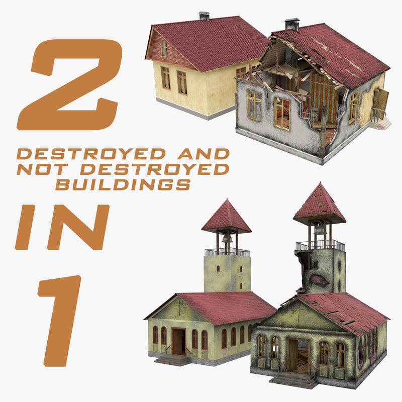 obj destroyed buildings 1 2