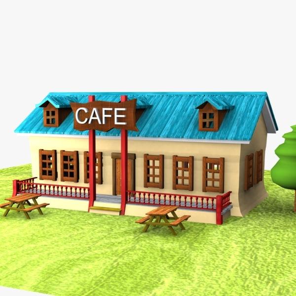 cartoon cafe toon 3ds
