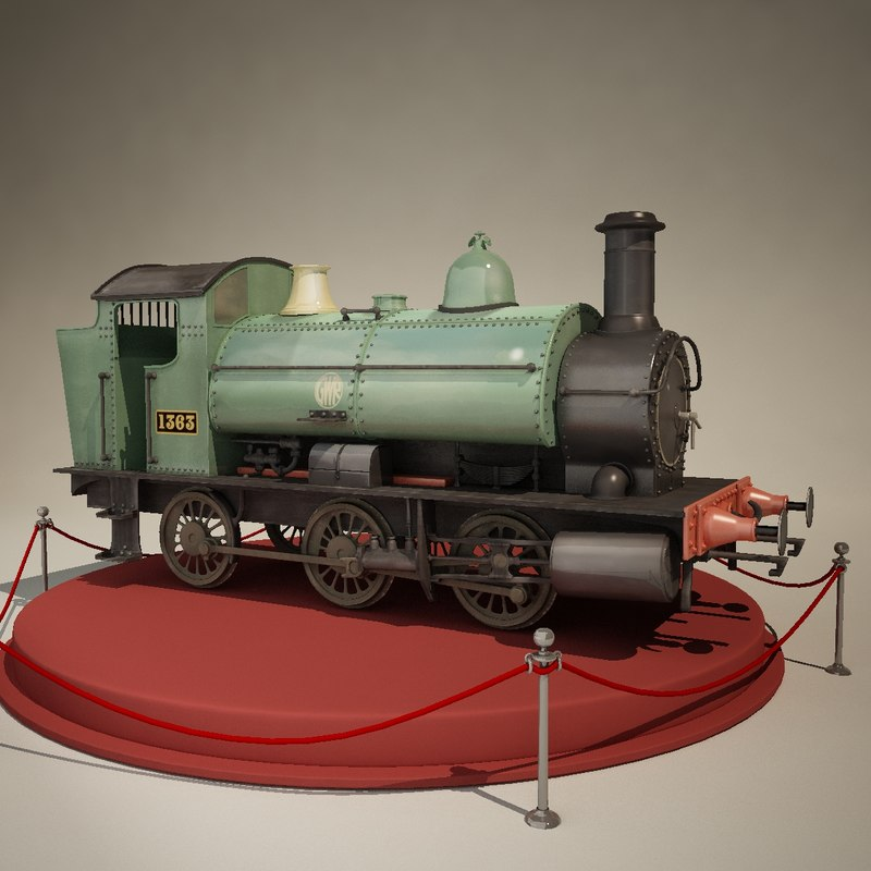 british engine tank 3d max