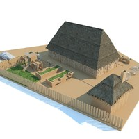 3d model restaurant bungalow 2011