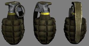 ww2 grenade obj