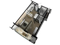 3d 3ds floor plan doll house
