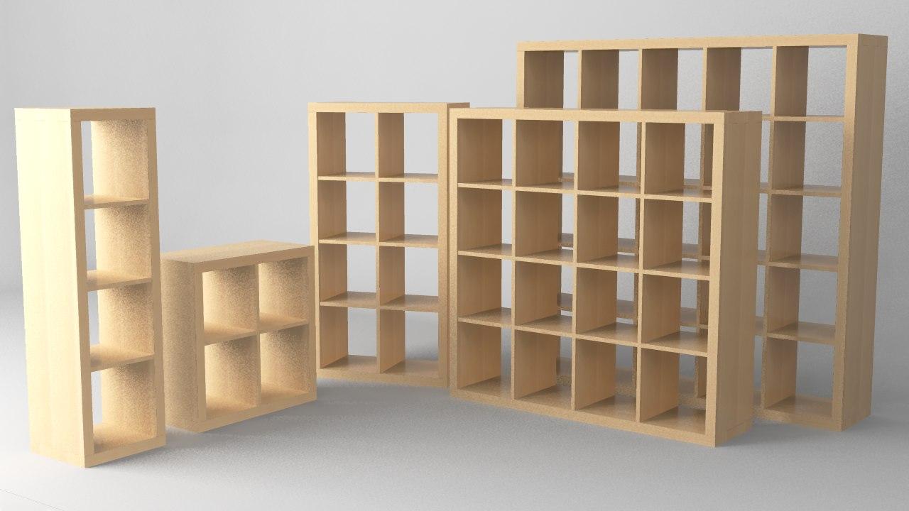 Materials Ikea Obj # Notice Expedit
