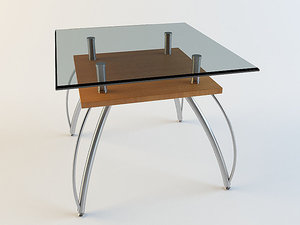 coffee little table 3d max