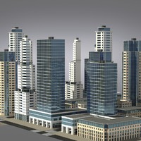 City Cluster - Residential Buildings