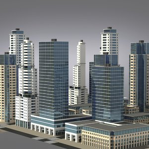 city cluster - residential max