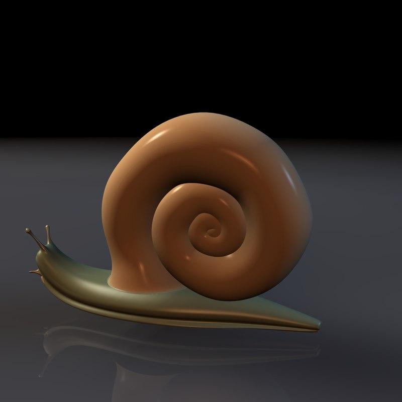 common garden snail 3ds free