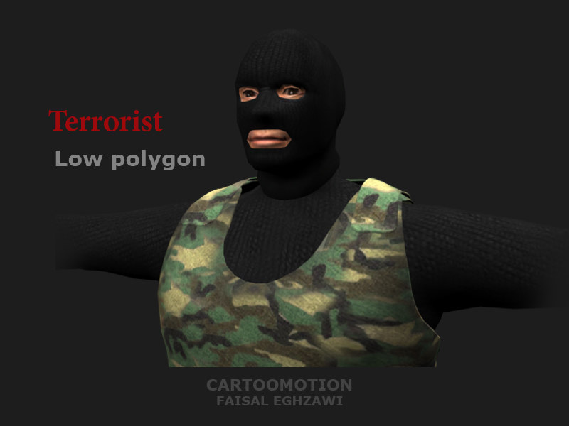 3d max terrorist