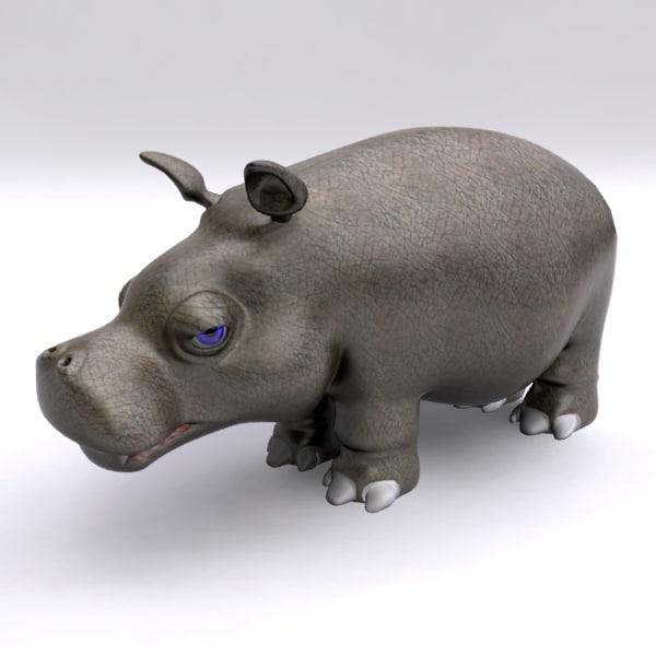 max hippopotamus cartoon