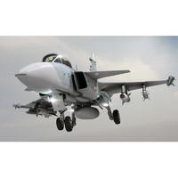 3d model jas 39 gripen jet