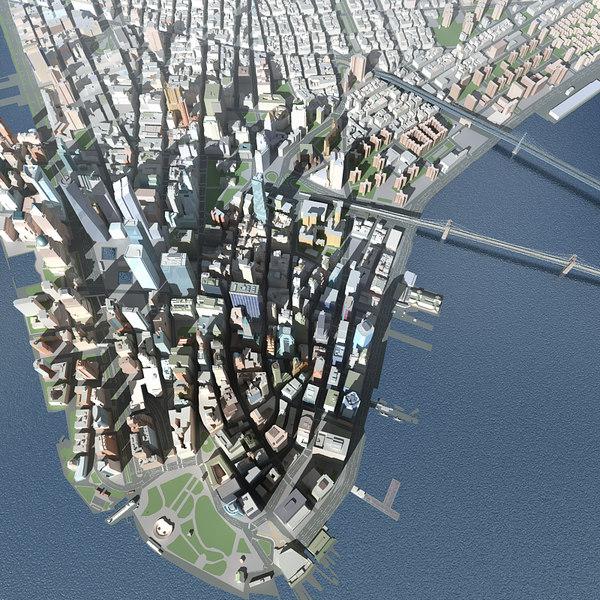 new york city skyline 3ds