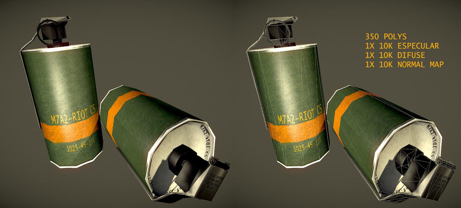 max gas grenade