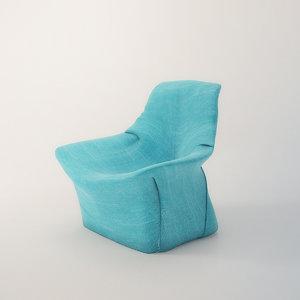 living divani kiru 3d 3ds