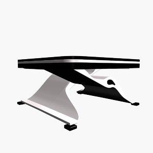 3d model table square