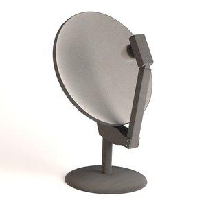 3d model antenna